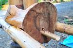 この竹の部分から醤油が出てきます。