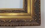 Restauración marco antiguo