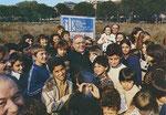 Il Card. Poletti visita il terreno destinato all'erigenda Chiesa Parrocchiale (maggio 1978)