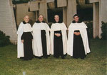 Tra i primi frati: Tommaso Pallicca, Alfonso Cerasoli, Amedeo Verdirosi, Mario Bianchi