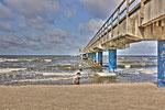 HDR Seebrücke Bansin / Mai 2011