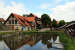 Fischteich im Kloster Michaelstein - Blankenburg / Harz