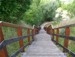 Treppe zur Klobikauer Höhe - Juni 2008
