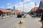 Einkaufstrasse in Blavand