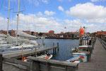Der Hafen in Ringkøbing
