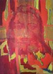 Titel: Jesus, Öltempera auf Papier