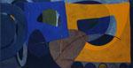 Jede Menge Halbheiten, Tempera auf Leinwand auf Holz 184cm/90cm