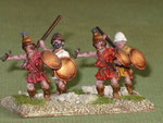 Archeox e peltasti merecenari (Ax)- Spartan archeox and mercenary peltast (Ax).