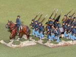 Fanteria Unionista - Union infantry.