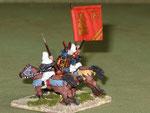 Retro del capo dei monaci guerrieri (Cv Gen) - Back of the warrior monks leader (CV Gen)
