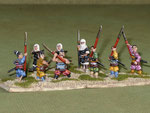 Monaci guerrieri e ashigaru (Ax) - Warrior monks and ashigaru (Ax).