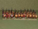 Opliti Spartani (Sp) - Spartan hoplites (Sp).
