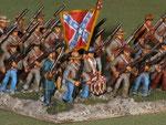 Fanteria Confederata - Confederate infantry.