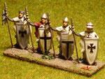 Fanteria pesante (Lance) - Heavy infantry (Spears).