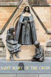 Statue vor St. Mary´s Cathedral
