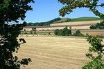 Während einer kurzen Pause genonnen wir die schöne Landschaft in der Grafschaft Fife.
