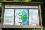 Der Nationalpark Jasmund erstreckt sich von Sassnitz bis nach Lohme.