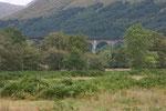Am Glenfinnan Viadukt am Loch Shiel wurden u.a. Filmszenen der Harry Potter Filme gedreht. Das Viadukt war zum Zeitpunkt der Fertigstellung eine technische Pionierleistung, denn es ist eine der allerersten großen Betonbrücken überhaupt.