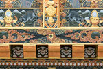Holzschnitzereien am Tempel Druk Wangyal Lhakhang