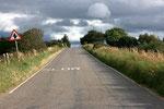 Straße auf dem Weg nach Inverness (Highlands).
