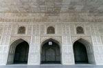 Diwan I Khas, hier emping der Mogul private Audiencen.