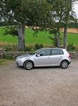 Unser VW Golf 1,6 FSI.