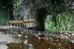 Auch ohne Bootstour war der Innenraum der großen Kalksteinhöhle sehr beeindruckend.
