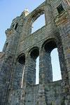 Während der Reformation wurde die Kathedrale zerstört.