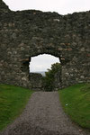 Die Ruinen von Inverlochy Castle bei Fort William (Highlands).