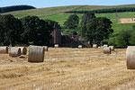 Edzel Castle in der Grafschaft Angus.