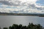 Nahe Inverness überqueren wir den Cromarty Firth auf einer großen Brücke.