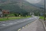 Wir fahren weiter um die Landschaft des bekannten Glen Coe zu bestaunen. Leider sieht das Wetter erneut nicht allzu vielversprechend aus.