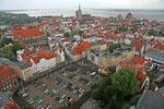 Stralsund von der Marienkirche aus gesehen.