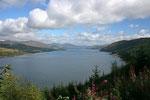 Am Loch Carron vorbei gelangten wir in die Landschaft von Wester Ross. Ursprünglich hatten wir vor hier u.a. die Landschaft um Loch Torridon zu erkunden ...