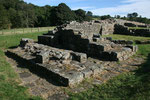 Die alten Mauern gehörten einst zu einem der vielen Kastelle des Hadrianwalls.