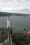 Leuchtturm auf der Isle of Skye (Highlands).