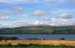 Landschaft am Cromary Firth (Highlands).