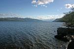 Wir erreichen erneut die Ufer des Loch Ness und fahren in den späten Nachmittagsstunden nach Fort Augustus.