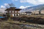 Unsere Wanderung führte uns immer wieder an schönen Bauernhäusern vorbei.