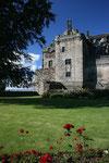 Der Prince´s Tower auf Stirling Castle (Grafschaft Stirling).