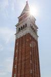 Der Campanile von San Marco.