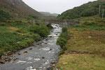 Brücke in den Highlands.