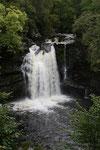 Die Falls of Falloch in der Grafschaft Stirling liegen auf dem Weg zum Loch Lomond.