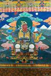 ... verbreiteten den Buddhismus in alle vier Himmelsrichtungen ...
