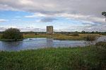 Treave Castle war einst die Festung von Archibald dem Grimmigen, dem dritten Earl of Douglas.