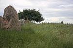 In dem Hühnengrab wurden noch um 300 v. Chr. Menschen bestattet.