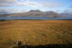 Landschaft am Little Loch Broom (Highlands).