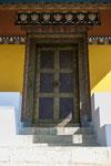 Eine der Eingangstüren des Tempels.