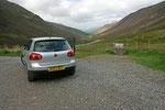 Nach einer sehr schönen Fahrt verließen wir Clan Carron und bogen ab in den Glen Docherty.