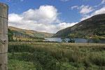 Durch den Glen Carron fuhren wir in die Wildnis von Wester Ross (Highlands).